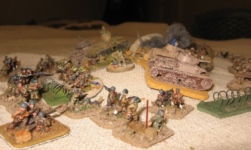 The Italian attack on 3rd Indian Mot.